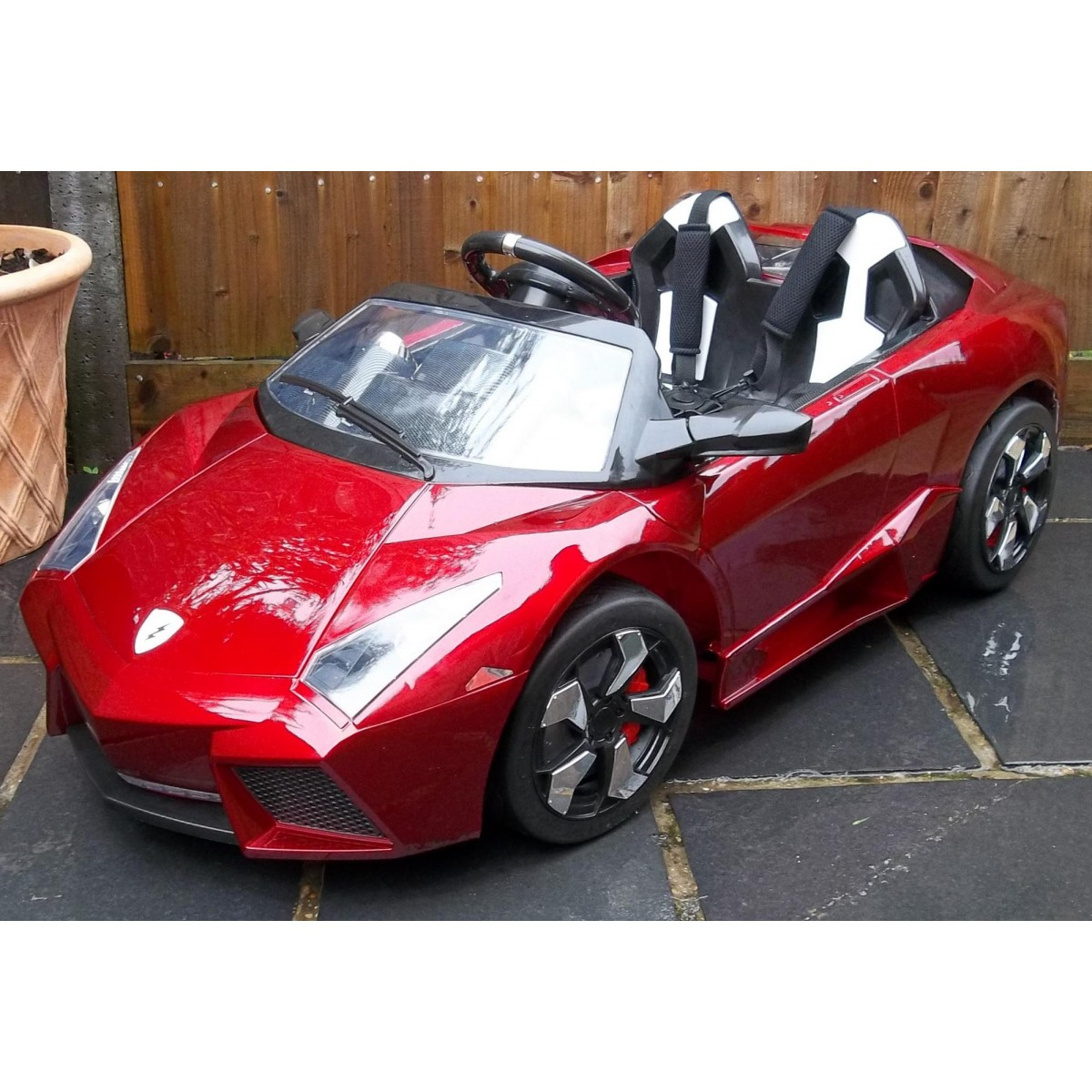 Lamborghini Electric Car For Kids >> Kids Lamborghini Ride On Car 12v Electric Red Kid Toy Online Shop