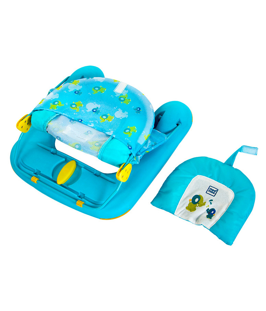 Mee Mee Large Comfort Bather With Head Support – Blue – Kid Toy ...